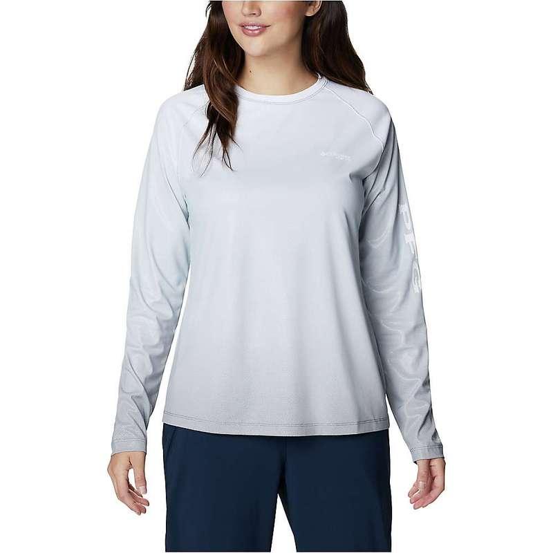 コロンビア レディース シャツ トップス Columbia Women's Tidal Deflector LS Shirt City Grey Gradient