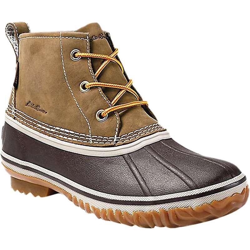 エディー バウアー レディース ブーツ・レインブーツ シューズ Eddie Bauer Women's Hunt Pac Leather Mid Boot Wheat