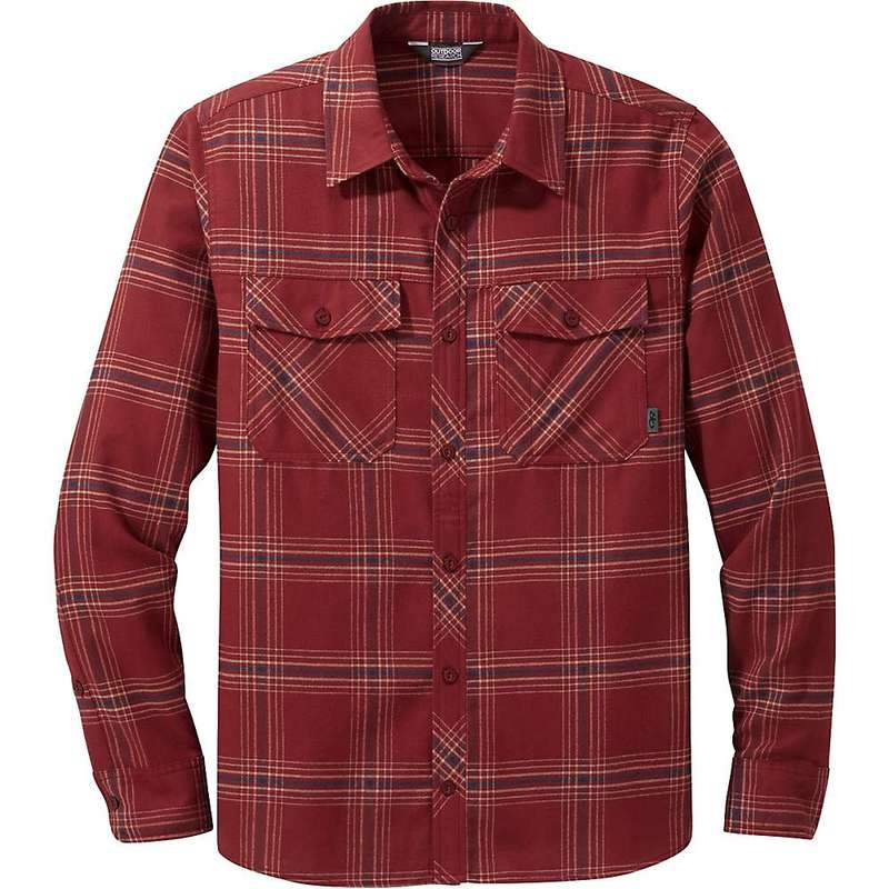 アウトドアリサーチ メンズ シャツ トップス Outdoor Research Men's Sandpoint Flannel Shirt Madder Plaid