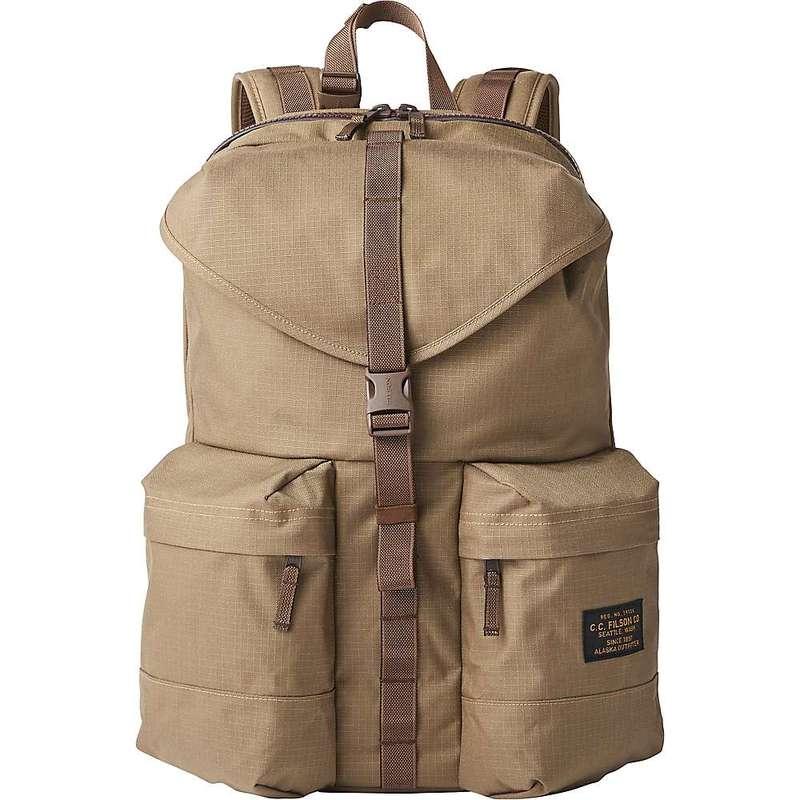 【売れ筋】 フィルソン メンズ バックパック・リュックサック バッグ Filson Ripstop Nylon Backpack Field Tan, 茅部郡 d201f4fe