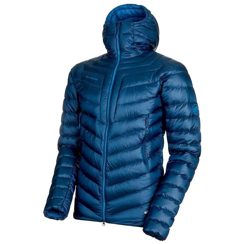 愛用  マムート メンズ ジャケット・ブルゾン アウター Mammut Men's Broad Peak IN Hooded Jacket Wing Teal / Sapphire, インテリアショップライト f24156d9