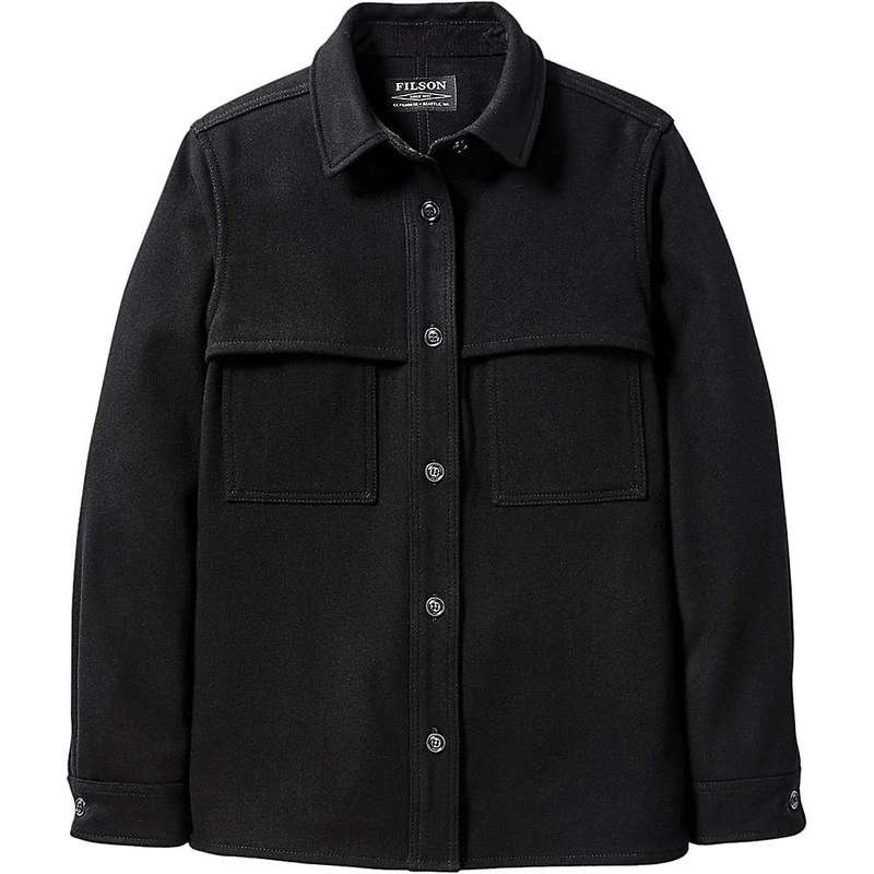 【初回限定お試し価格】 フィルソン レディース シャツ トップス Filson Women's Wool Jac Shirt Black, モノプロダクション 51630150