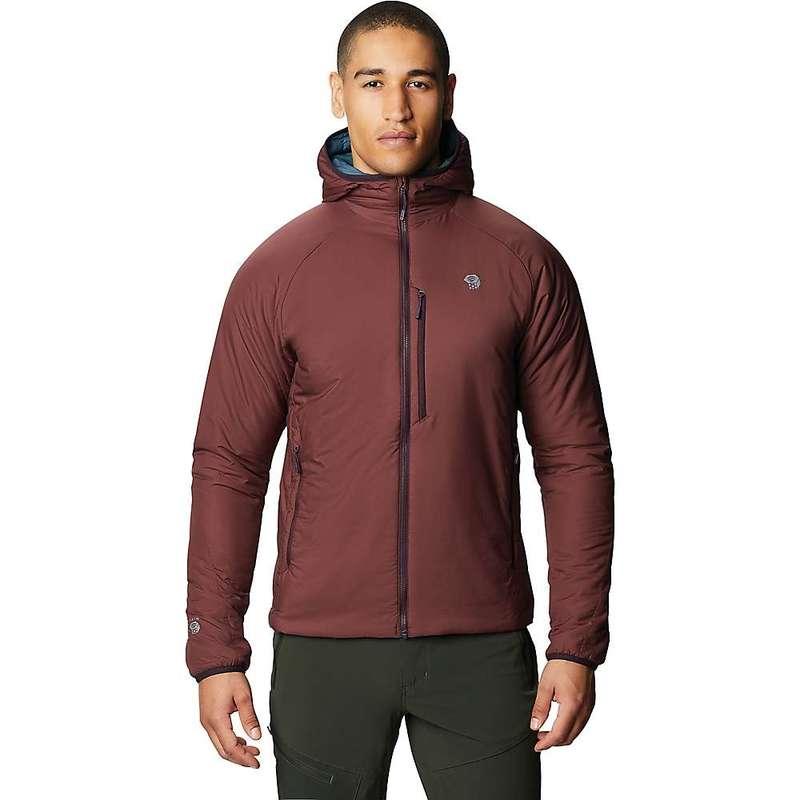 高価値セリー マウンテンハードウェア メンズ ジャケット・ブルゾン アウター Mountain Hardwear Men&39;s Kor Strata Hooded Jacket Washed Raisin, ラベンダージャパン 27d23394