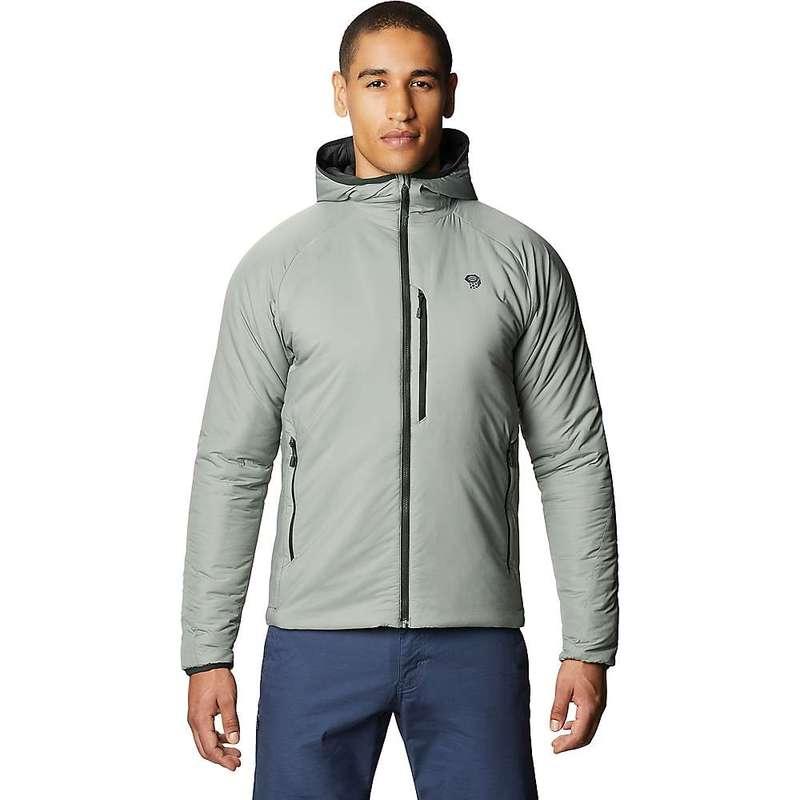 トップ マウンテンハードウェア メンズ ジャケット・ブルゾン アウター Mountain Hardwear Men&39;s Kor Strata Hooded Jacket Wet Stone, SPOTCHECK.SHOP 3d1d3c60