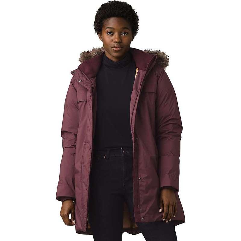 【メール便無料】 プラーナ レディース ジャケット・ブルゾン アウター Prana Women's Sayama Long Jacket Raisin, バンブルー Vent Bleu 7dd1cc44
