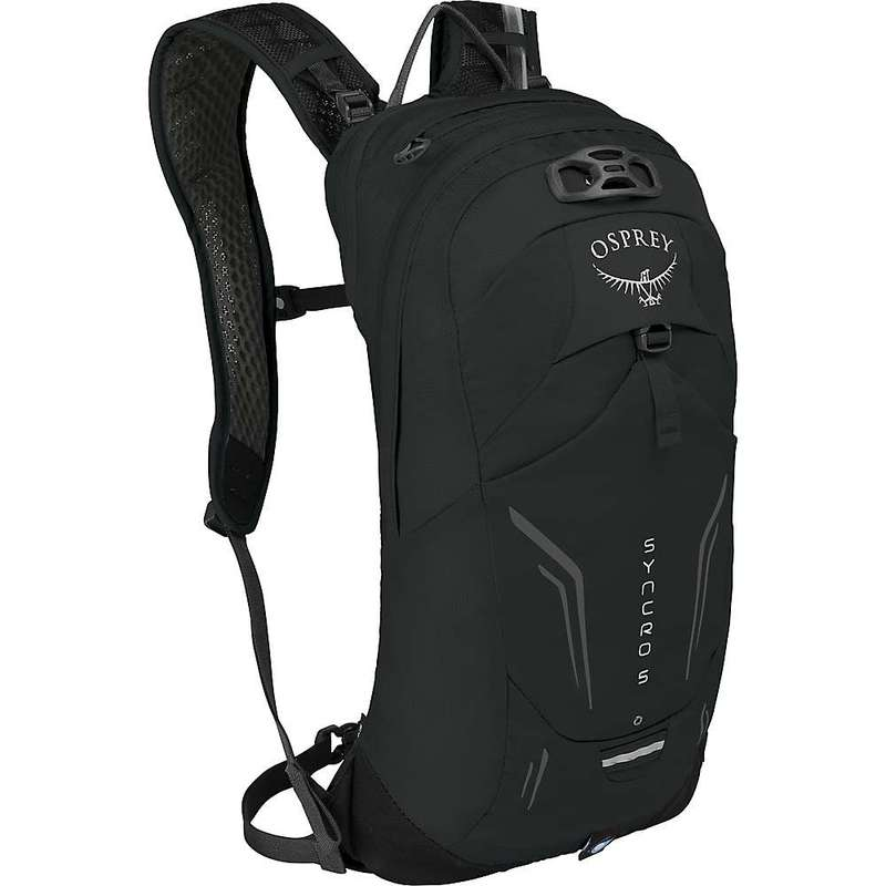 <title>贈答品 送料無料 サイズ交換無料 オスプレー メンズ バッグ バックパック リュックサック Black Osprey Syncro 5 Hydration Pack</title>
