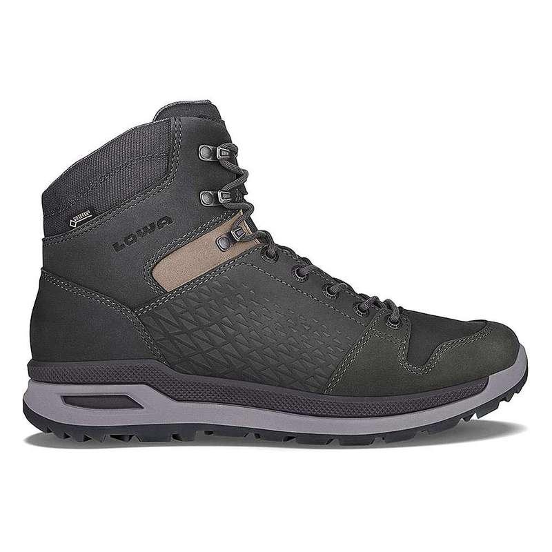 送料無料 サイズ交換無料 ロワブーツ メンズ シューズ ブーツ 供え レインブーツ Anthracite Mid Locarno 百貨店 Boot Ice GTX Men's Lowa