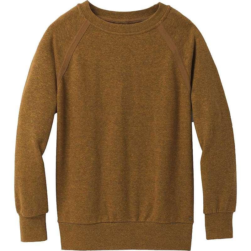 送料無料 サイズ交換無料 プラーナ 格安店 レディース アウター パーカー スウェット 全国どこでも送料無料 Antique Sweatshirt Women's Bronze Up Cozy Prana Heather