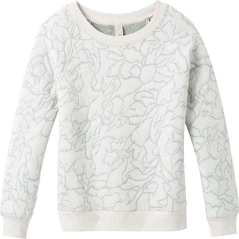 送料無料 サイズ交換無料 プラーナ レディース アウター パーカー ブランド買うならブランドオフ スウェット Prana 業界No.1 Pullover Women's Carin Soft White