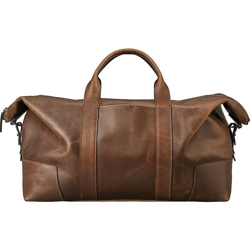 最高の品質の シャイノーラ メンズ ボストンバッグ Large バッグ Shinola Men's Men's Large シャイノーラ Carryall Medium Brown, 用宗のところてん:840a5fed --- eurotour.com.py