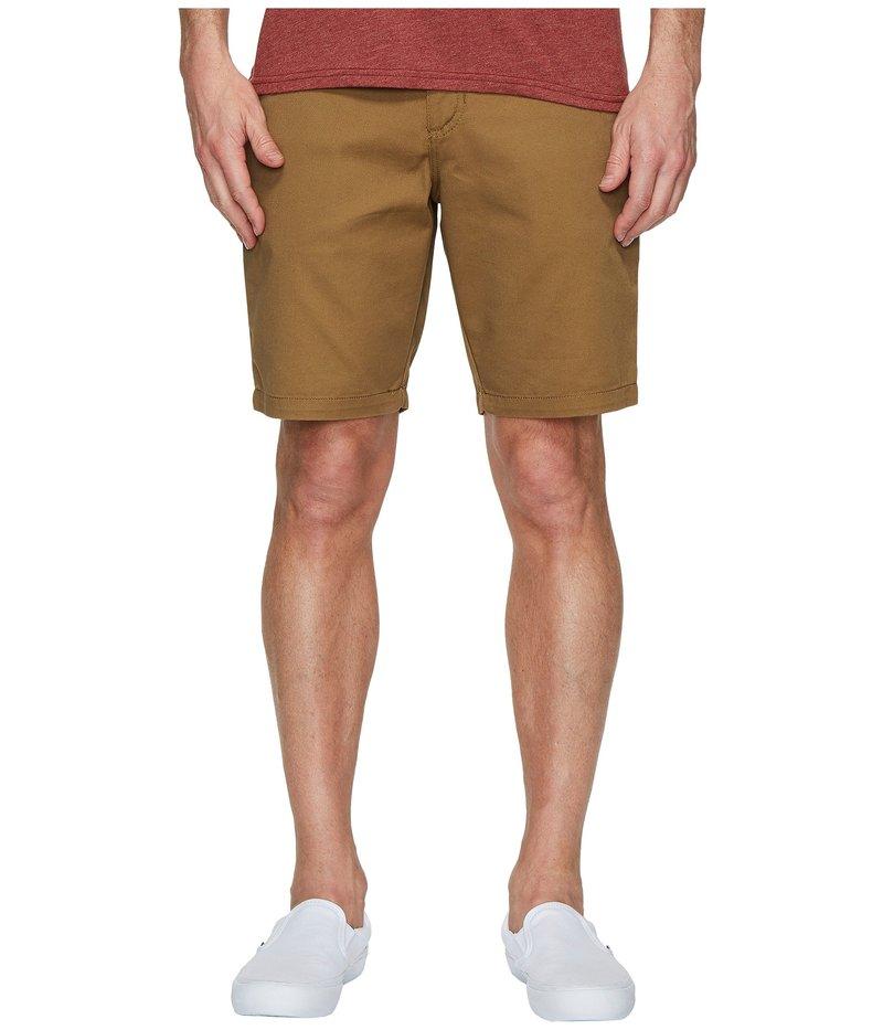 バンズ メンズ ハーフパンツ・ショーツ ボトムス Authentic Stretch Shorts 20 Dirt