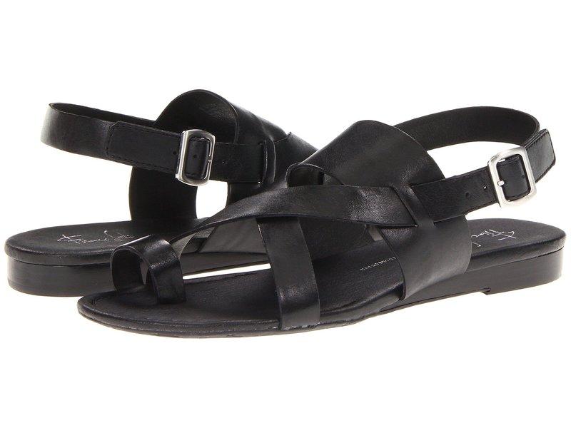 フランコサルト レディース サンダル シューズ Gia by SARTO Black Leather