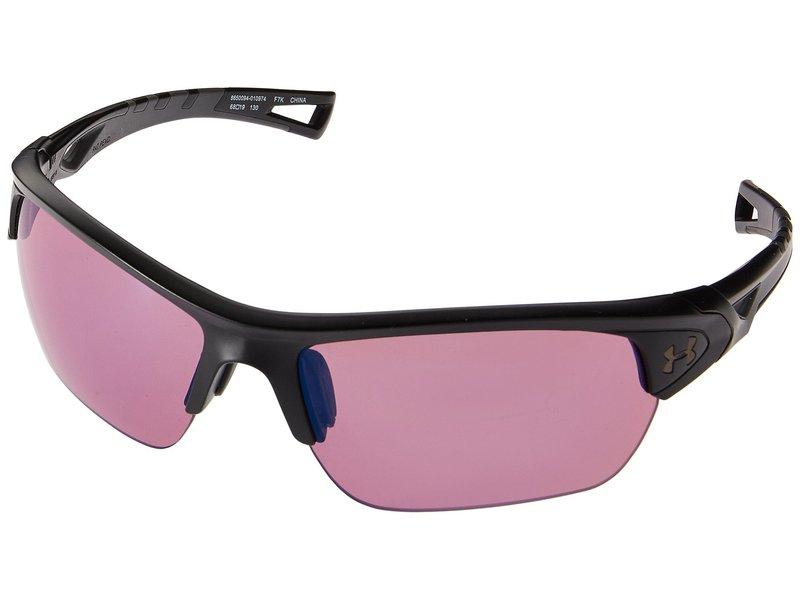 アンダーアーマー メンズ サングラス・アイウェア アクセサリー UA Octane Satin Black/Charcoal Gray/Golf