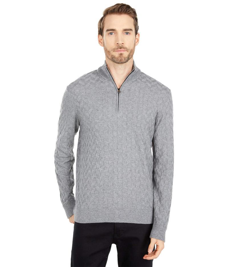 送料無料 サイズ交換無料 ロバートグラハム 送料無料新品 メンズ アウター ニット 永遠の定番モデル セーター Sweater Vasa Medium Grey The