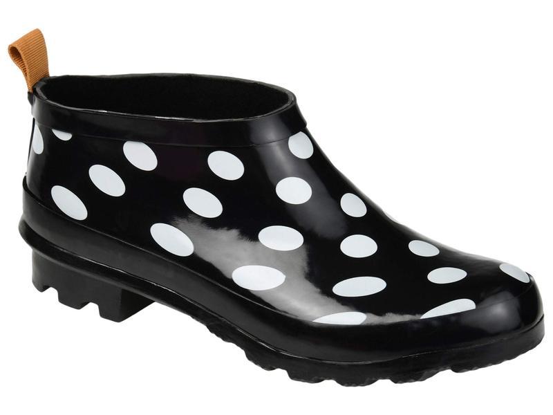 レディース ブーツ・レインブーツ コレクション Rainer Boot Rain Black ジュルネ Dot シューズ