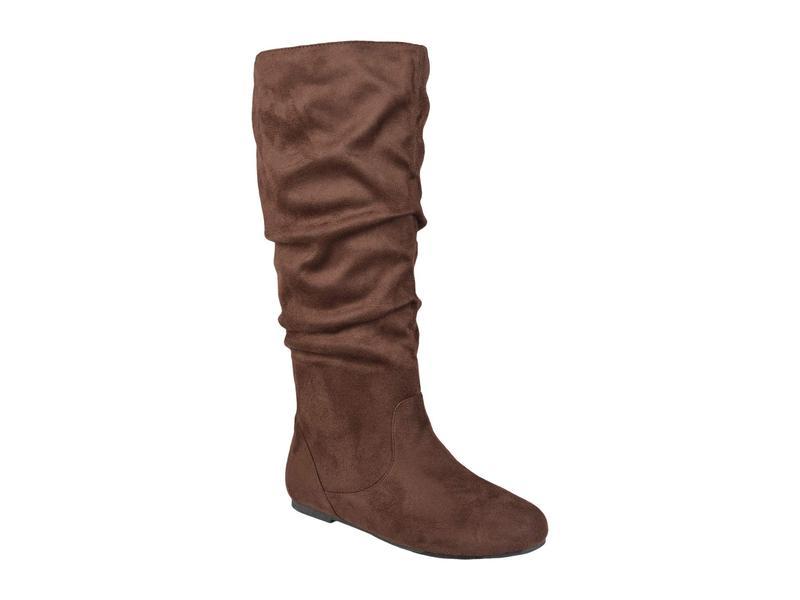 レディース ジュルネ シューズ Boot Rebecca-02 ブーツ・レインブーツ Calf Wide - Brown コレクション