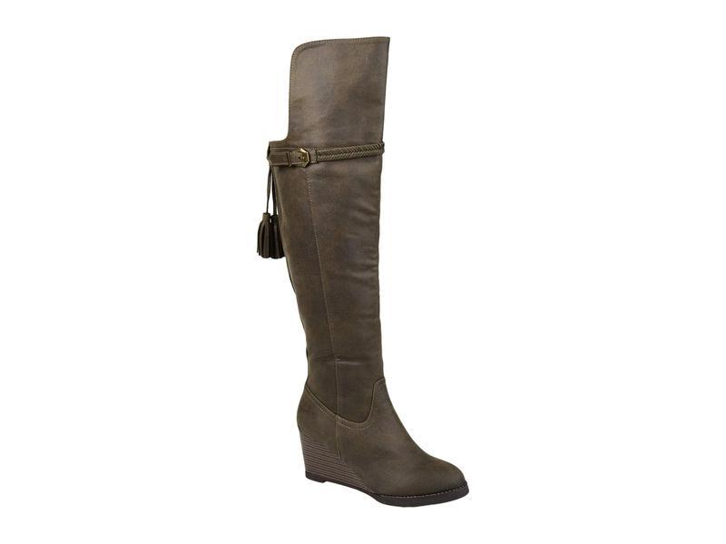Wide Olive シューズ Boot Calf ブーツ・レインブーツ ジュルネ レディース - Jezebel コレクション