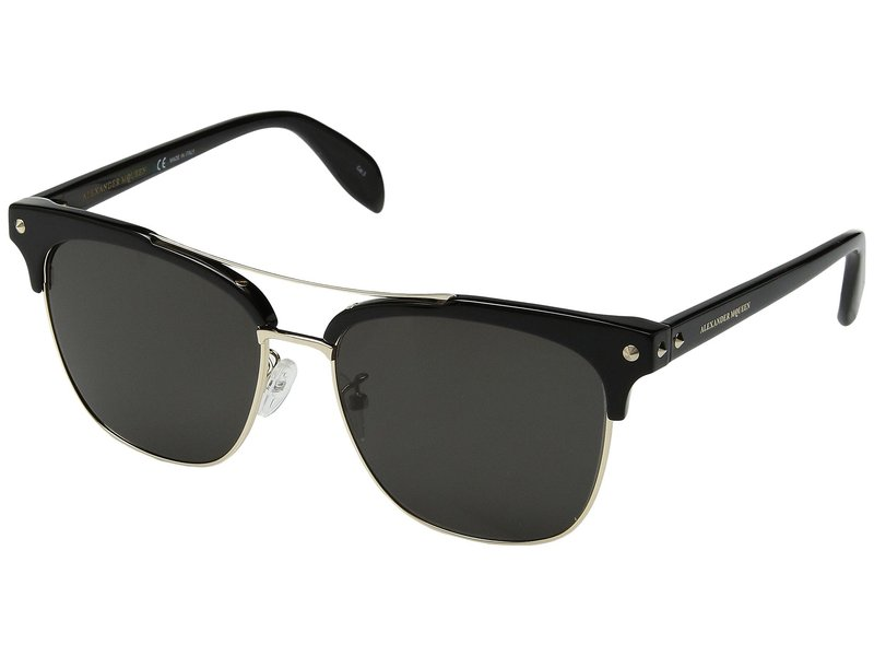 アレキサンダー・マックイーン メンズ サングラス・アイウェア アクセサリー AM0126SK Black/Grey