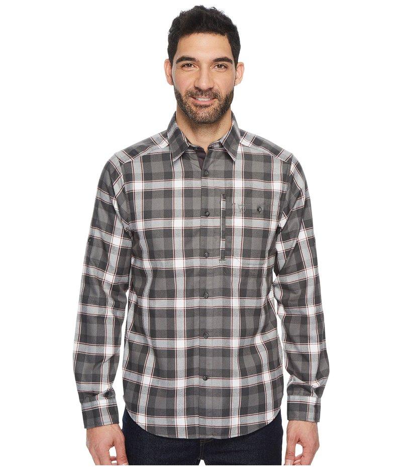 フェールラーベン メンズ シャツ トップス Fjallglim Shirt Stone Grey