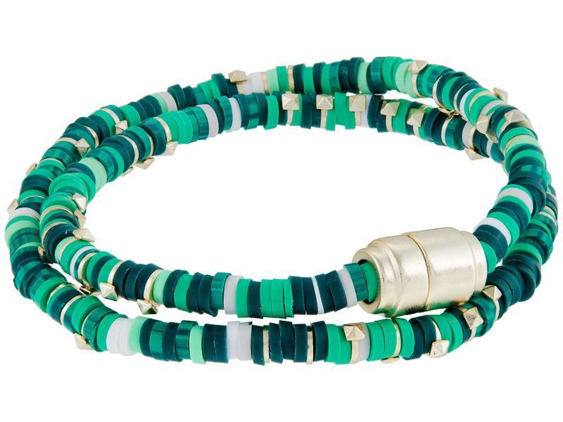送料無料 サイズ交換無料 ケンドラスコット レディース アクセサリー ブレスレット バングル Green Reece アンクレット 送料無料限定セール中 Wrap 数量は多 Mix Bracelet Gold