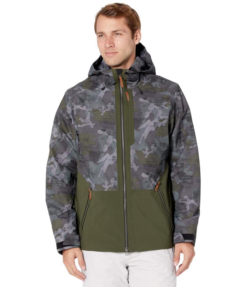 【お気にいる】 オバマイヤー メンズ コート アウター Chandler Shell Jacket Off-Duty Camo, 渋谷の質屋 楠本商店 b8321a82