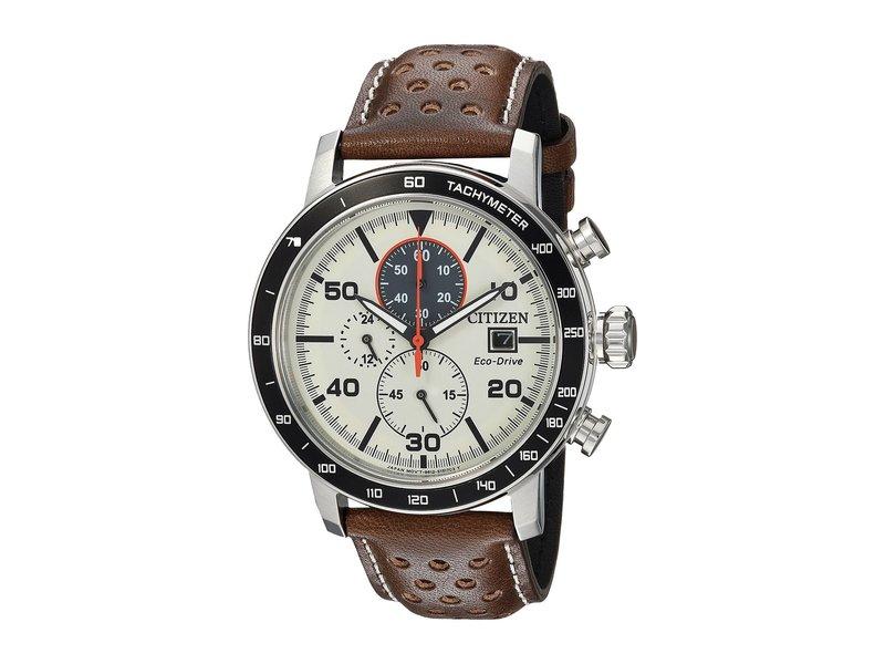 シチズンウォッチ メンズ 腕時計 アクセサリー CA0649-06X Eco-Drive Brown