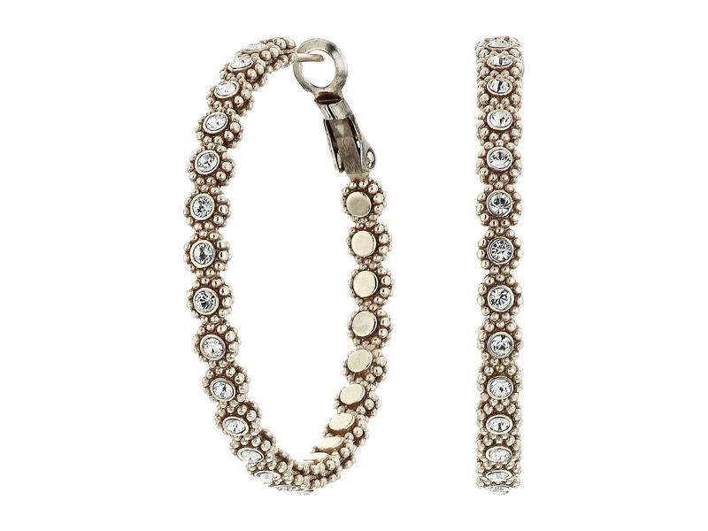 送料無料 商品 サイズ交換無料 ブライトン レディース アクセサリー ピアス イヤリング Earrings Twinkle 正規店 Crystal Hoop Medium Splendor