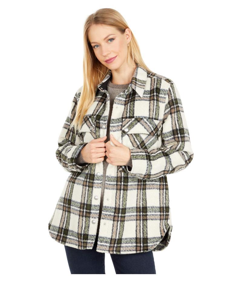 新発売の ブランクニューヨーク レディース コート アウター Oversized Flannel Shirt Jacket Outsider, 里山からの贈り物 85287621