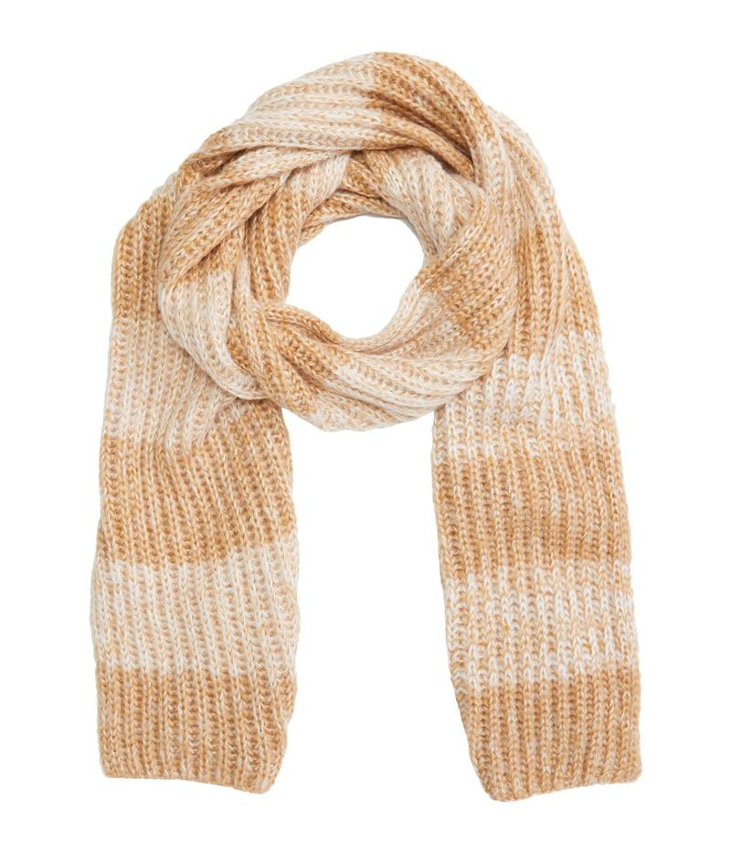 送料無料 サイズ交換無料 フライ レディース アクセサリー マフラー ストール 商い Mouline Striped Sparkle Scarf Camel 期間限定 スカーフ