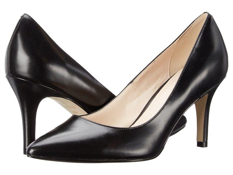 コールハーン レディース ヒール シューズ Juliana Pump 75mm Black Leather