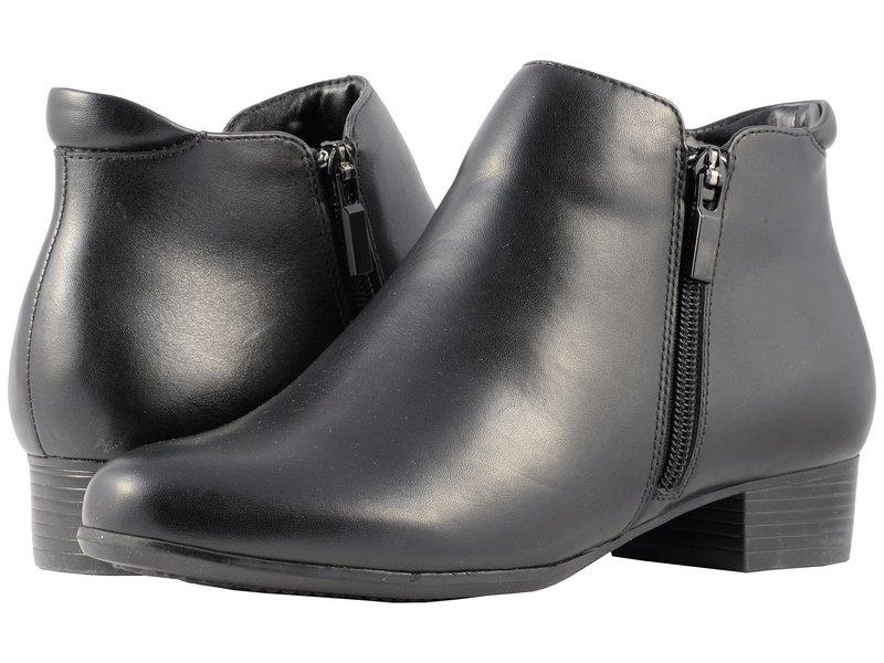 トロッターズ レディース ブーツ・レインブーツ シューズ Major Black Smooth Leather