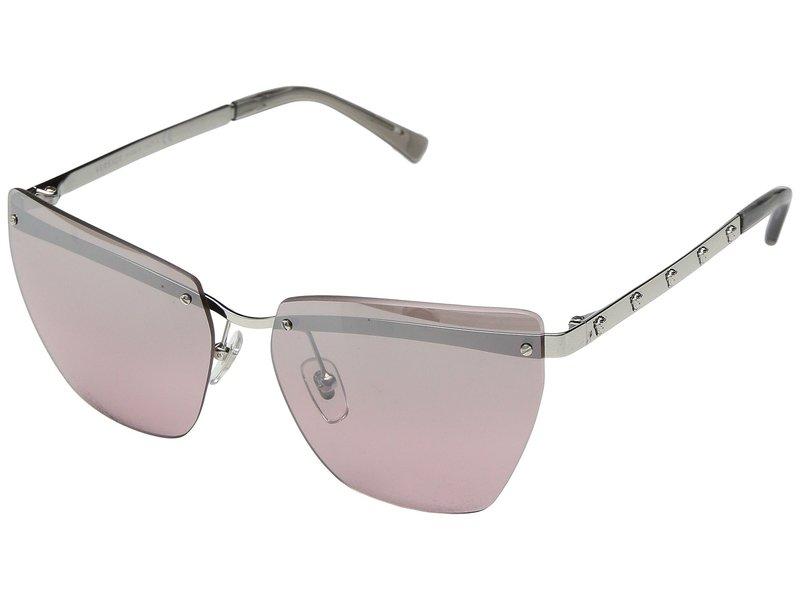 ヴェルサーチ レディース サングラス・アイウェア アクセサリー VE2190 Silver/Pink Mirror Silver Gradient