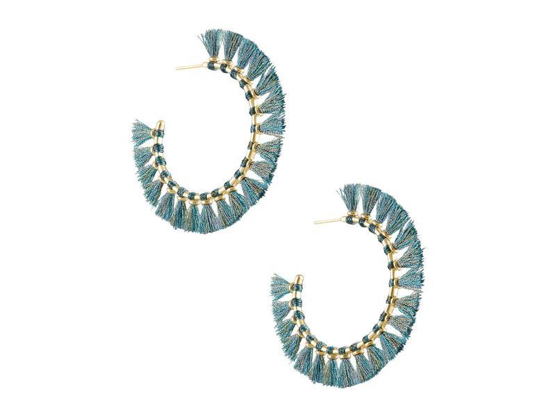 送料無料 サイズ交換無料 ケンドラスコット レディース セール特別価格 超特価 アクセサリー ピアス Turquoise Evie Hoop イヤリング Gold Earrings