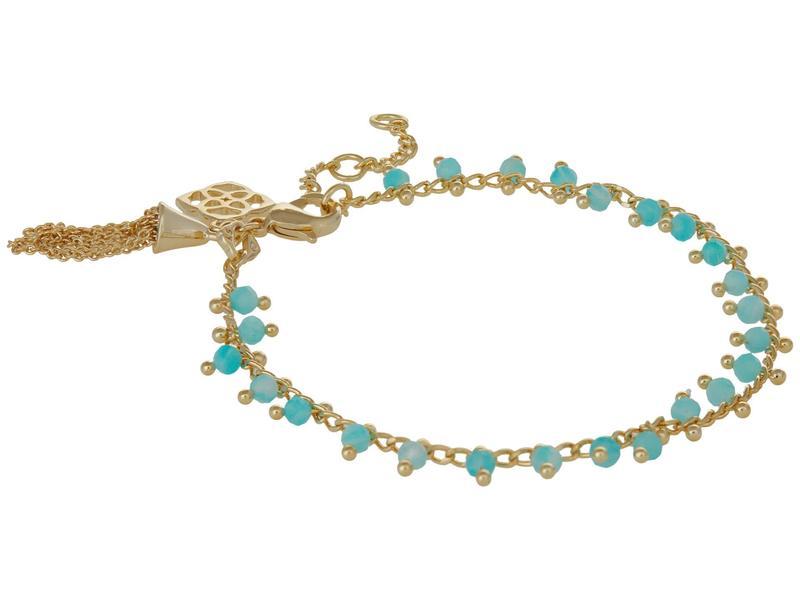 送料無料 サイズ交換無料 ケンドラスコット レディース 信用 アクセサリー ブレスレット バングル Gold Amazo Bracelet Teal アンクレット Jenna 日本最大級の品揃え Delicate