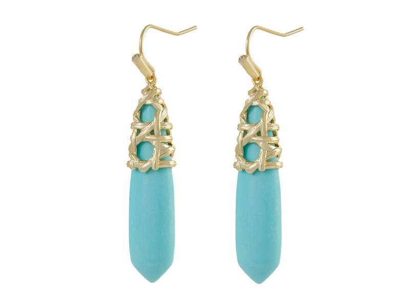 送料無料 永遠の定番モデル 祝日 サイズ交換無料 ケンドラスコット レディース アクセサリー ピアス イヤリング Light Gold Natalie Drop Blue Earrings