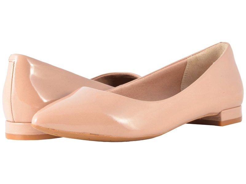 ロックポート レディース サンダル シューズ Total Motion Adelyn Ballet Warm Taupe Soft Patent