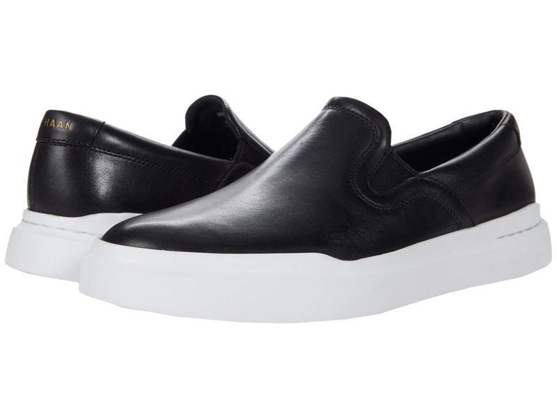 送料無料 サイズ交換無料 コールハーン メンズ シューズ スリッポン・ローファー Black コールハーン メンズ スリッポン・ローファー シューズ Grandpro Rally Slip-On Sneaker Black