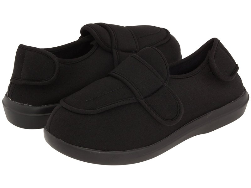 プロペット レディース サンダル シューズ Cronus Medicare/HCPCS Code = A5500 Diabetic Shoe Black