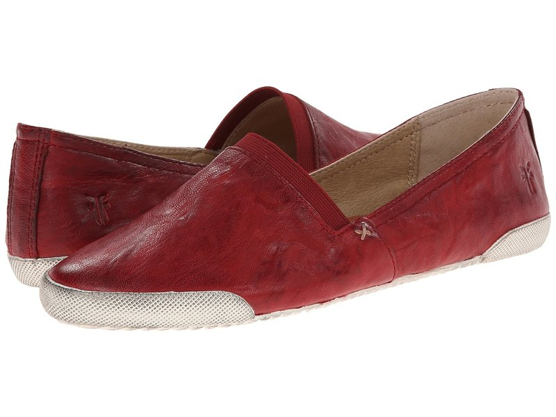 フライ レディース スニーカー シューズ Melanie Slip On Burnt Red Antique Soft Vintage