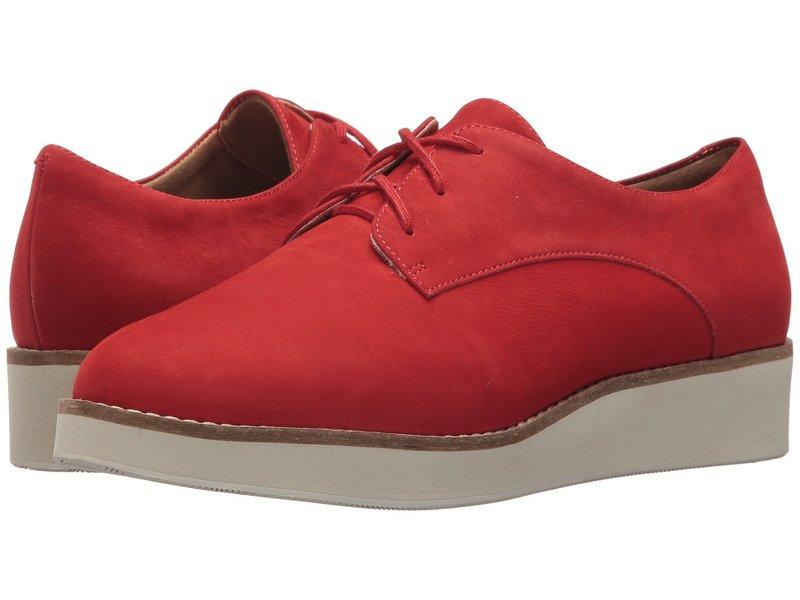 ソフトウォーク レディース オックスフォード シューズ Willis Red Smooth Nubuck Leather