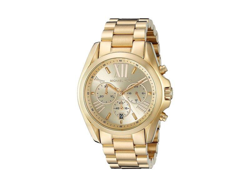 マイケルコース レディース 腕時計 アクセサリー MK5605 - Bradshaw Chronograph Gold