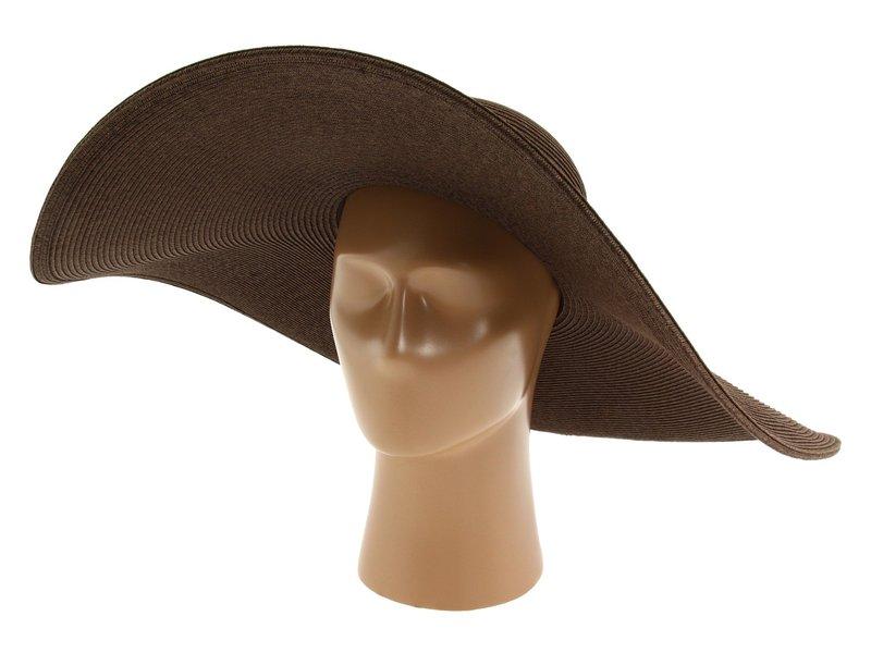 サンディエゴハット レディース 帽子 アクセサリー UBX2535 Ultrabraid XL Brim Sun Hat Chocolate