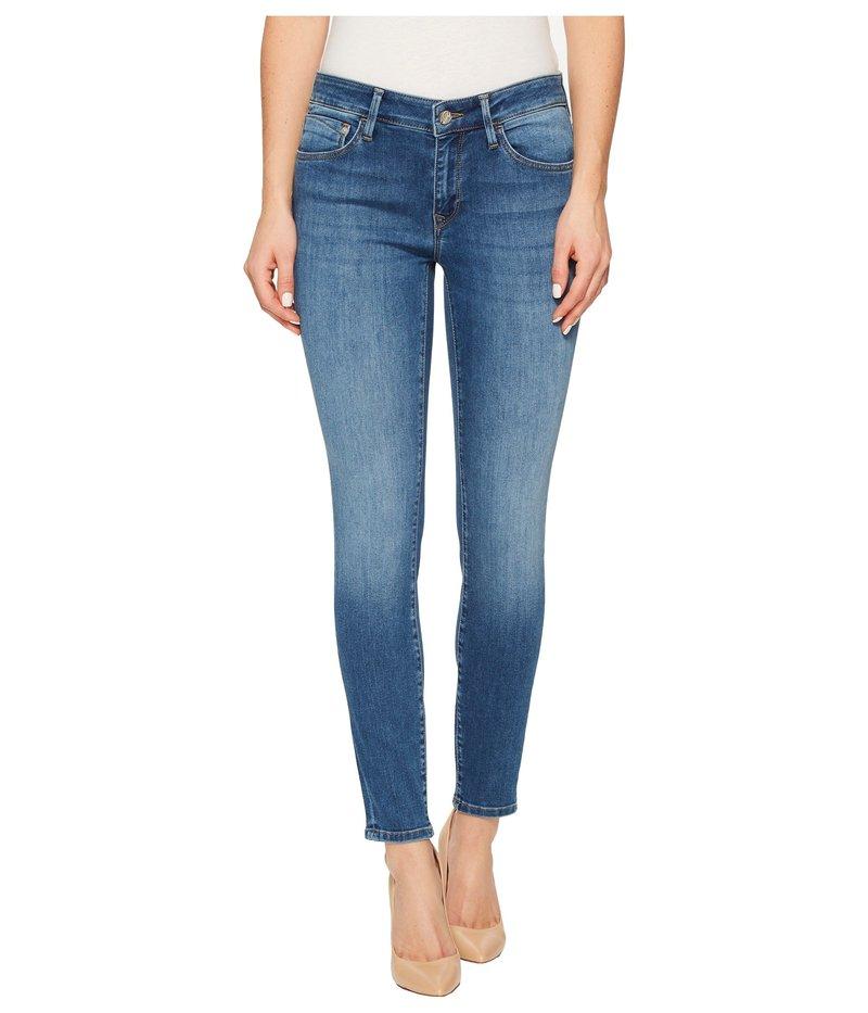 マーヴィ ジーンズ レディース デニムパンツ ボトムス Adriana Midrise Ankle Super Skinny 27 in Medium Blue Medium Blue