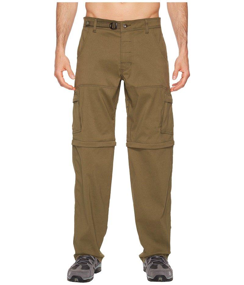プラーナ メンズ カジュアルパンツ ボトムス Stretch Zion Convertible Pant Cargo Green