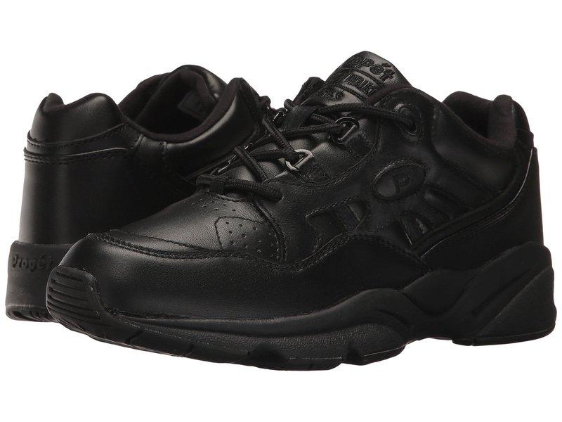 プロペット レディース スニーカー シューズ Stability Walker Medicare/HCPCS Code = A5500 Diabetic Shoe Black Leather