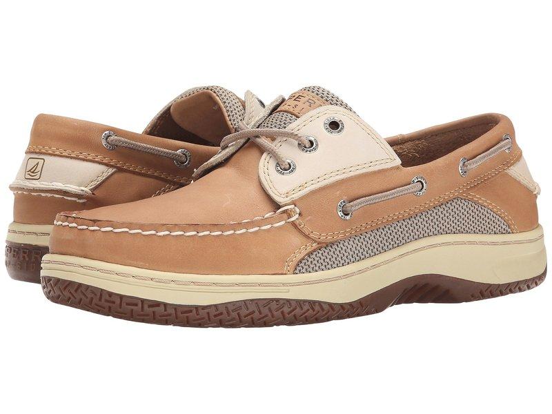 スペリー メンズ デッキシューズ シューズ Billfish 3-Eye Boat Shoe Tan/Beige