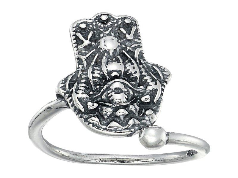 アレックスアンドアニ レディース リング アクセサリー Hand of Fatima Fatima Ring レディース Hand Wrap Sterling Silver, パーティードレス通販Smile Orchid:8bd5a20b --- gallery-rugdoll.com