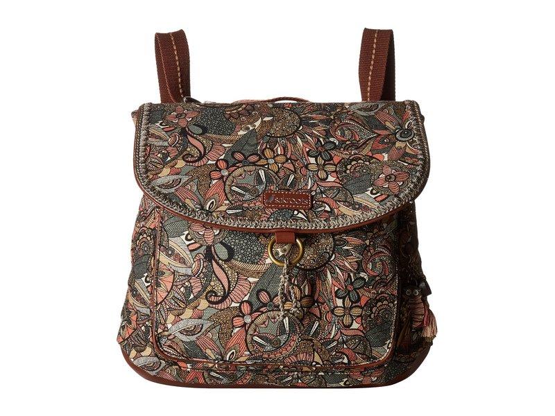 サックルーツ レディース バックパック・リュックサック バッグ Convertible Backpack Sienna Spirit Desert