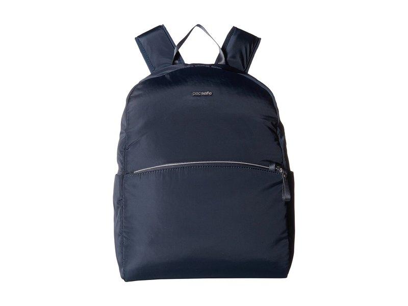 パックセーフ レディース バックパック・リュックサック バッグ Stylesafe Anti-Theft Backpack Navy