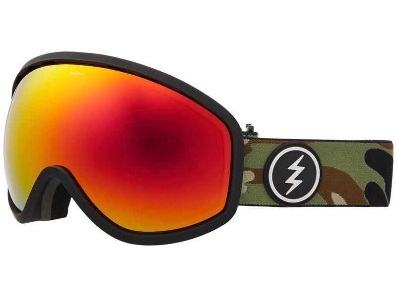 エレクトリックアイウェア メンズ サングラス・アイウェア アクセサリー Masher Camo/Brose Red Chrome Lens